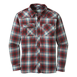 Outdoor Research Feedback Flannel Shirt - Men's, Black-Redwood, 256