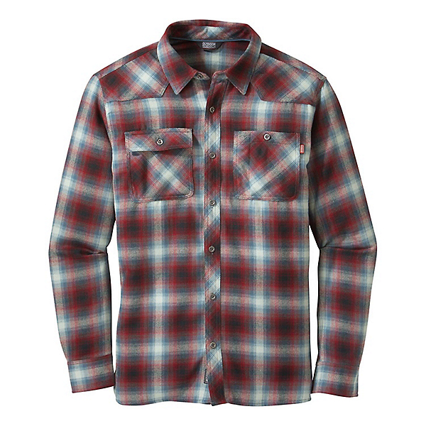 Outdoor Research Feedback Flannel Shirt - Men's, , 600