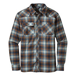 Outdoor Research Feedback Flannel Shirt - Men's, Night-Saddle, 256