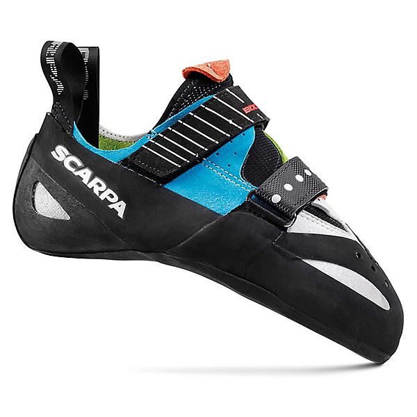 Scarpa Boostic Rock Shoe - Men's - 43.5/Parrot-Spring-Turquoise, Parrot-Spring-Turquoise, 600
