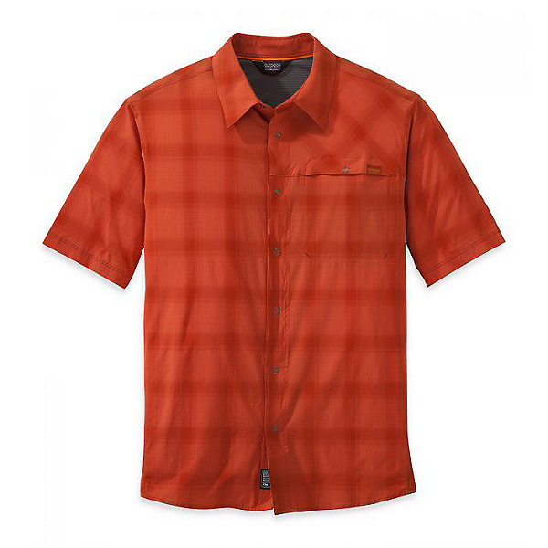 Outdoor Research Astroman Short Sleeve Sun Shirt - Men, Diablo, 600