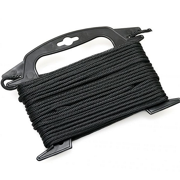 Yak-Gear Diamond Braid Anchor Rope - 75 Ft, Black, 600
