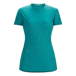 Arc'teryx Phase SL Crew Short Sleeve - Women's, Cerulean, 256