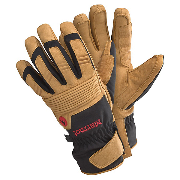 Marmot Exum Guide Undercuff Glove - Men's - SM/Black-Tan, Black-Tan, 600