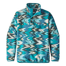 Patagonia Synchilla Lightweight Snap-T - Women's, Trout Tales Elwha Blue, 256