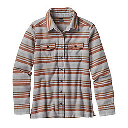 Patagonia Fjord Flannel Long Sleeve Shirt - Women's, Arborist-Drifter Grey, 256