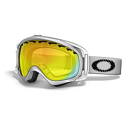 Oakley Crowbar Goggles - Men's, Matte White-Fire, 256
