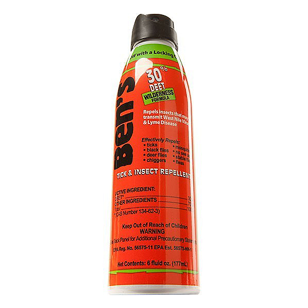 BEN'S Tick & Insect Repellent 6 OZ ECO-Spray, , 600