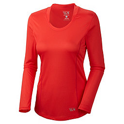 Mountain Hardwear Wicked Lite Long Sleeve T - Women's, Red Hibiscus, 256