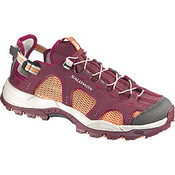 Salomon Techamphibian 3 Approach Shoe - Women's, Bordeaux-Orange Feeling-Purple, 256