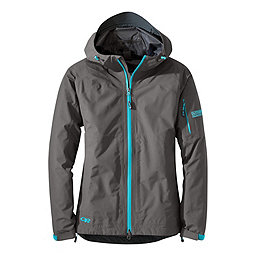 Outdoor Research Aspire Jacket - Women's, Pewter-Typhoon, 256