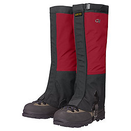 Outdoor Research Crocodiles Gaiters - Men's, Chili-Black, 256