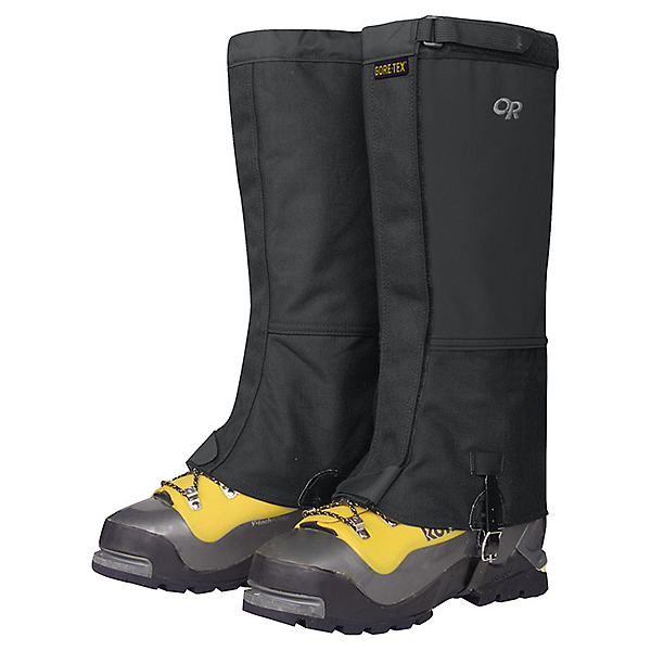 Outdoor Research Expedition Crocodile Gaiters, Black, 600