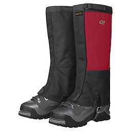 Outdoor Research Expedition Crocodile Gaiters, Chili-Black, 256