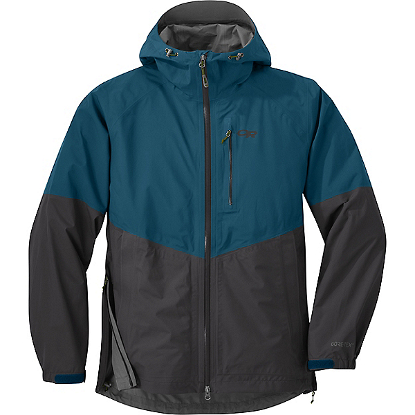 Outdoor Research Foray Jacket - Men's - LG/Peacock-Storm, Peacock-Storm, 600