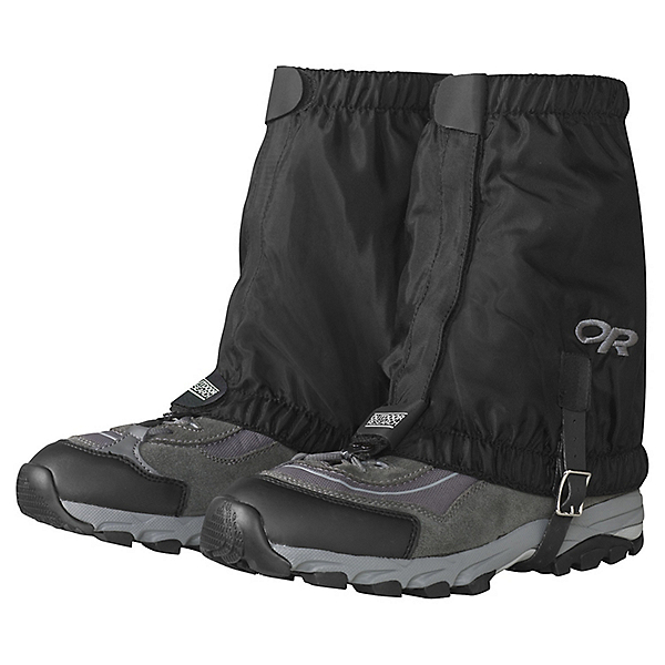 Outdoor Research Rocky Mountain Low Gaiters, Black, 600