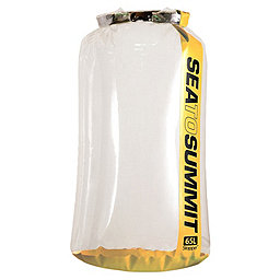 Sea To Summit Clear Stopper Dry Bag, Yellow, 256