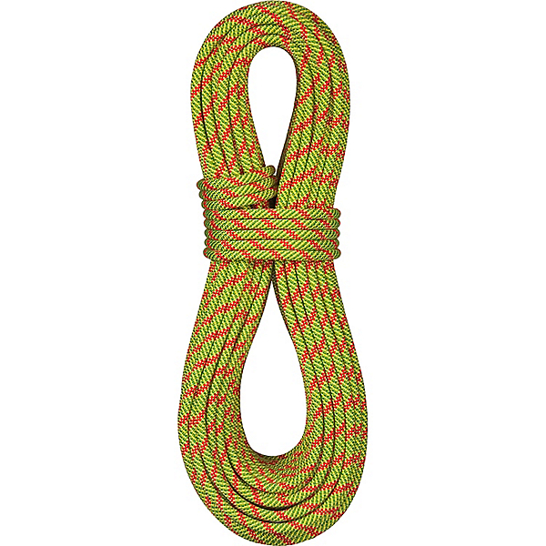 BlueWater 9.1mm Icon Rope - Standard - 60M/Sprout-Red Orange, Sprout-Red Orange, 600