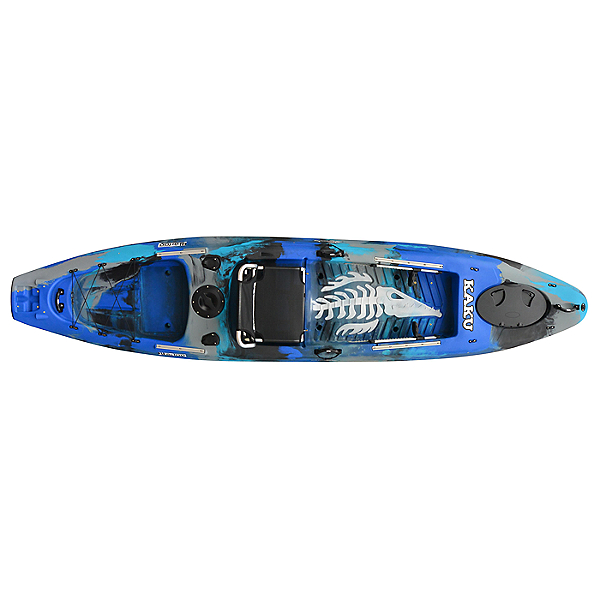 Kaku Kayak Wahoo 12.5 Fishing Kayak, Blue Camo, 600