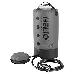 Nemo Helio Pressure Shower, Grey, 256