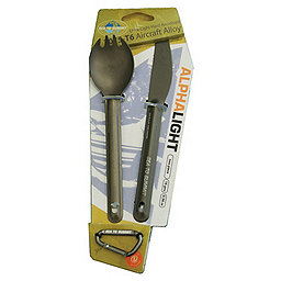 Sea To Summit AlphaLight Cutlery, Spork and Knife, 256