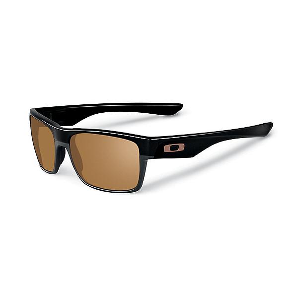 Oakley TwoFace Sunglasses - Polished Blk-Dark Bronze, Polished Blk-Dark Bronze, 600