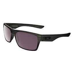 Oakley TwoFace Sunglasses, Woodgrain w-Prizm Daily Plrzd, 256