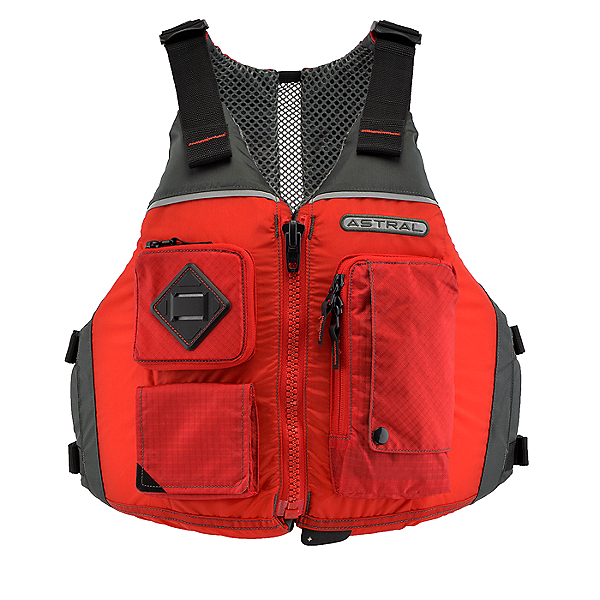 Astral Designs Ronny Life Jacket - PFD, Cherry Creek Red, 600