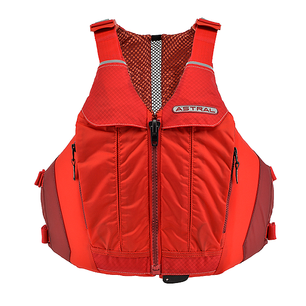 Astral Designs Linda Life Jacket - PFD - Womens Rosa Red - M/L, Rosa Red, 600