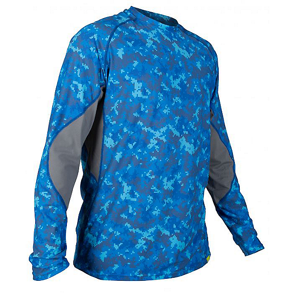 NRS Baja Sun Shirt Long Sleeve - Men - Closeout, Marine Camo, 600