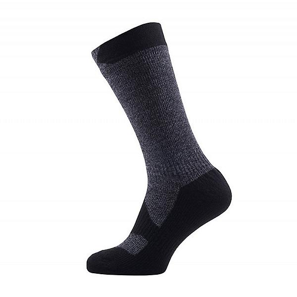SealSkinz Walking Thin Mid-Length Waterproof Socks, , 600