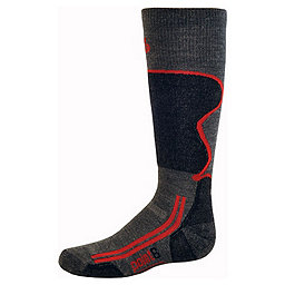 Point6 Ski Light OTC Sock - Youth, Gray, 256