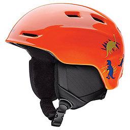 Smith Zoom Jr Helmet - Youth, Neon Orange Dinos, 256