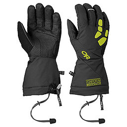 Outdoor Research Alpine Alibi II Gloves, Black-Lemongrass, 256