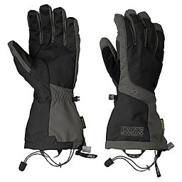 Outdoor Research Arete Gloves - Men's, Black-Charcoal, 256