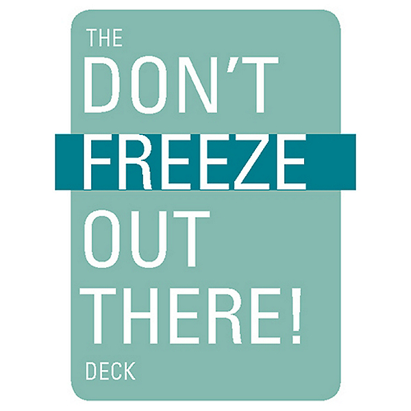 The Mountaineers Books The Don't Freeze Out There Deck of Cards, , 600