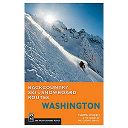 The Mountaineers Books Backcountry Ski & Snowboard Routes Washington, , 256
