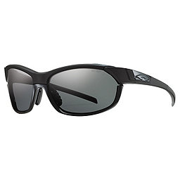 Smith Pivlock Overdrive Sunglasses, Black w-Polar Gray-Ign-Clr, 256
