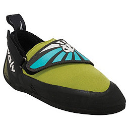 Evolv Venga Rock Shoes - Kid's, Blue-Lime Green, 256