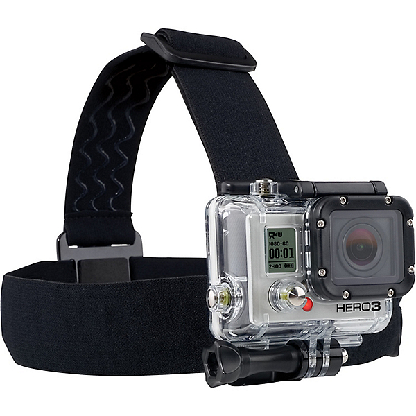 GoPro Head Strap Mount + QuickClip, , 600