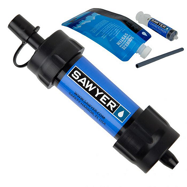 Sawyer Products Mini Water Filtration System, Blue, 600
