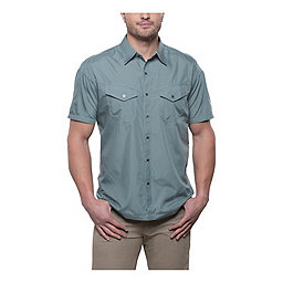 Kuhl Stealth Short Sleeve Shirt - Men's, Metal Green, 256