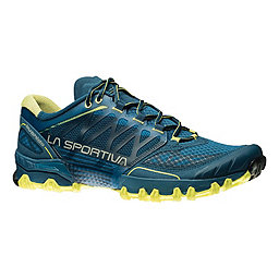 La Sportiva Bushido Trail Running Shoe - Men's, Ocean-Sulphur, 256