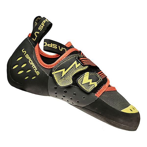 La Sportiva Oxygym Rock Shoe - Men's - 45.5/Carbon-Sulphur, Carbon-Sulphur, 600
