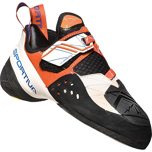 La Sportiva Solution Rock Shoe - Women's - 39.5/WhiteLilyorange, WhiteLilyorange, 600