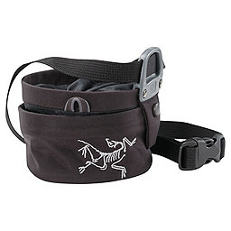 Arc'teryx Aperture Chalk Bag - Small, Black, 256