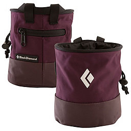 Black Diamond Mojo Zip Chalk Bag, Plum, 256