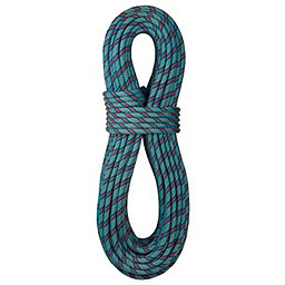 BlueWater 9.3 mm Wave Dynamic Rope - Standard, Blue-Red, 256