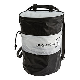 Metolius Ultralight Chalk Bag Cylinder, Black-White, 256