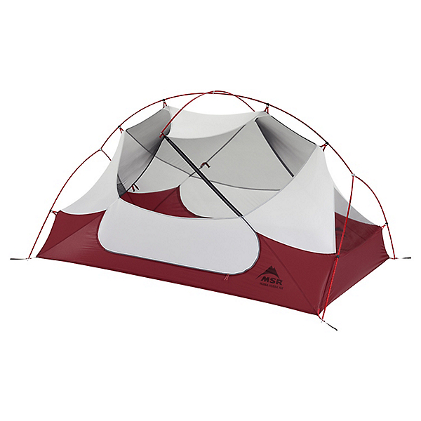 MSR Hubba Hubba NX 2 Person Tent, Red, 600